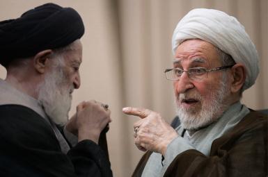 محمد یزدی و آیتالله موسی شبیری زنجانی