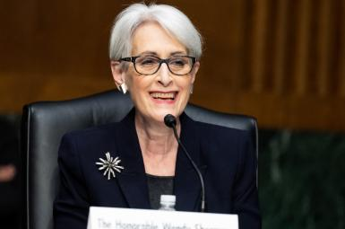 Wendy Sherman during her Senate hearing for Deputy Secretary of State. March 3, 2021