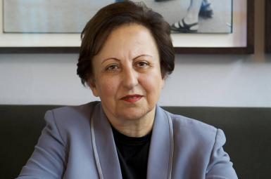 شیرین عبادی برنده جایزه نوبل صلح و فعال حقوق بشری ایرانی