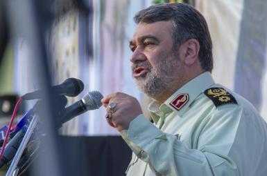 حسین اشتری، فرمانده نیروی انتظامی
