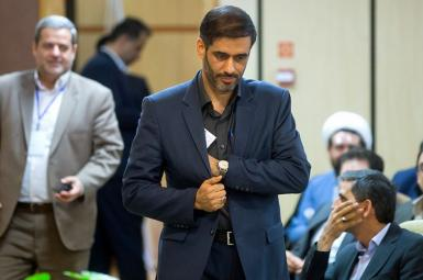 General Saeed Mohammad the commander of IRGC's construction business outfit. FILE