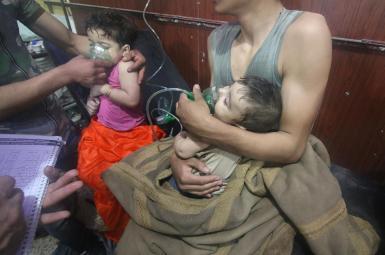 حمله شیمیایی به شهر دوما در غوطه شرقی سوریه