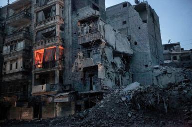 Devastation in Syria's Deir Ezzor. File photo