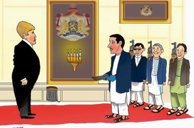 کاریکاتور طنز، بلای جان سیاستمداران افغان