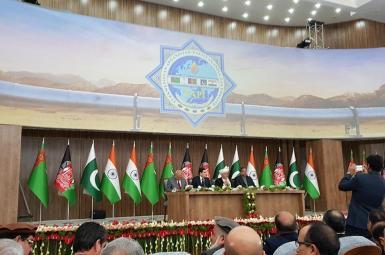 افتتاح بخش افغانستان در پروژه انتقال گاز منطقهای «تاپی»