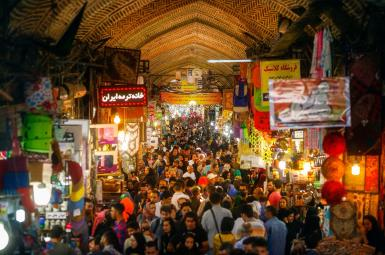 Tehran's Grand Bazaar- File photo
