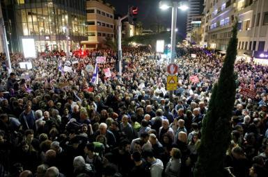 اعتراض هزاران نفر علیه فساد در دولت نتانیاهو