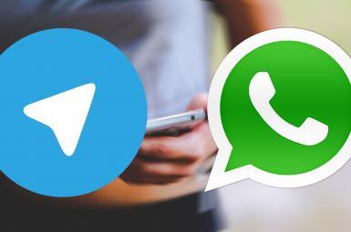 واتسآپ و تلگرام