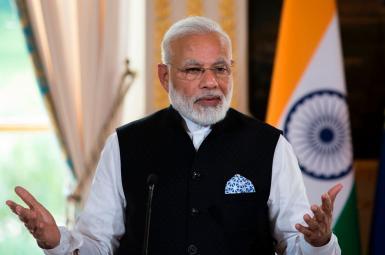 نارندرا مودی نخستوزیر هند
