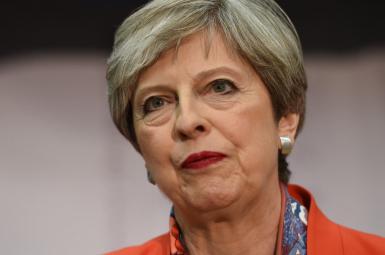 ترزا می نخست وزیر بریتانیا
