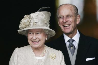 ملکه بریتانیا و شوهرش