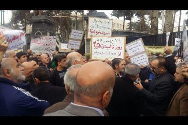 برگزاری تجمعات اعتراضی کارگری در چند شهر ایران