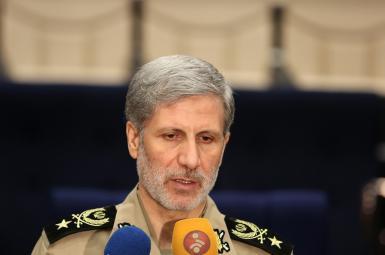 سرتیپ امیر حاتمی، وزیر دفاع و پشتیبانی نیروهای مسلح