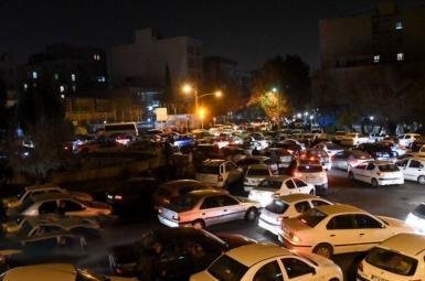 ترافیک تهران پس از زلزله