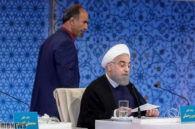 حسن روحانی در مناظرهی انتخابات ۹۶