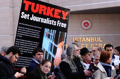 ۱۷ روزنامهنگار «جمهوریت» مخالف دولت ترکیه محاکمه شدند