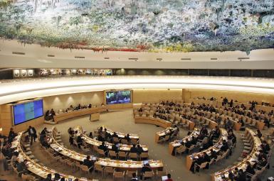 اجلاس شورای حقوق بشر سازمان ملل متحد در ژنو
