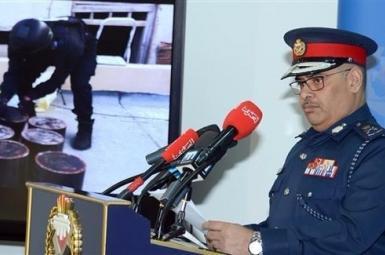 سرلشکر طارق بنحسن الحسن رئیس سازمان امنیت عمومی بحرین