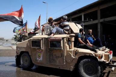 پیشرفت نیروهای عراقی، در منطقه قدیمی موصل