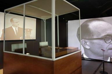 افتتاح موزهی محاکمهی آدولف آیشمن، جنایتکار نازی در نیویورک