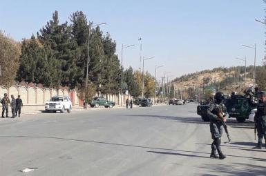 حمله مهاجمان مسلح در کابل به یک شبکه خصوصی تلویزیونی
