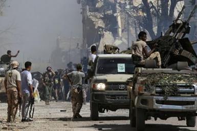 درگیری شدید در بنغازی لیبی