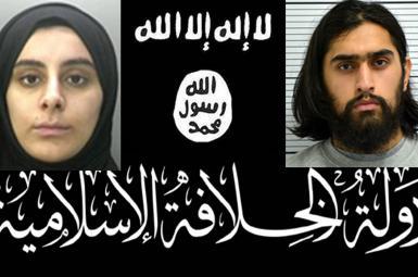 زوج مسلمان بریتانیایی تروریست