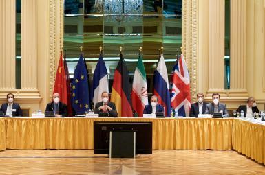 Vienna talks aimed at reviving the Iran nuclear deal. April 6, 2021