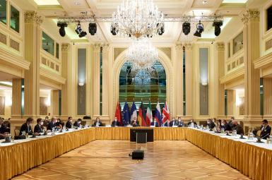 The joint commission of the JCPOA meeting in Vienna. April 6, 2021