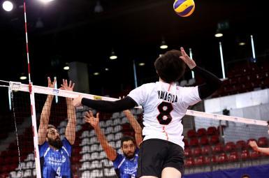 والیبال ایران برابر ژاپن