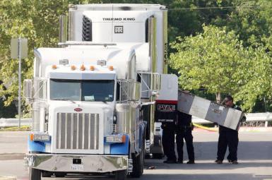 مرگ 10 مهاجر غیرقانونی در تگزاس از خفگی در داخل کامیون