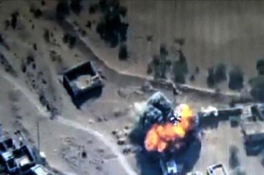 انهدام یک مرکز فرماندهی حوثیها توسط ارتش امارات