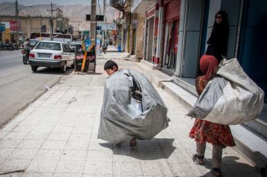 کودکان متکدی در تهران
