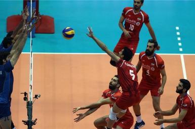 مصاف حساس ایران و آرژانتین در لیگ والیبال ملتهای جهان