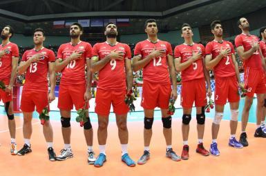 تیم ملی ایران رقابتهای لیگ والیبال ملتهای دنیا