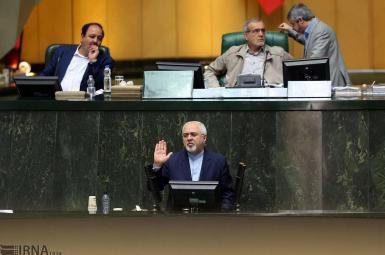 محمدجواد ظریف در جلسه سؤال نمایندگان مجلس