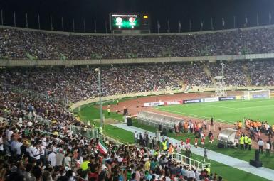 بازیهای جام جهانی  در ورزشگاه آزادی