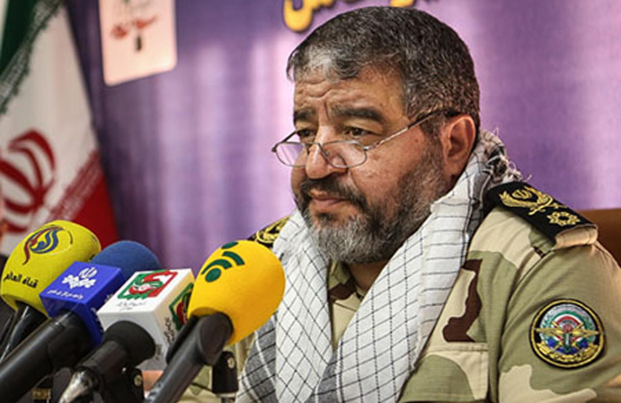 Brigadier General of IRGC, Gholamreza Jalali, commander of Iran's Civil Defense. File Photo