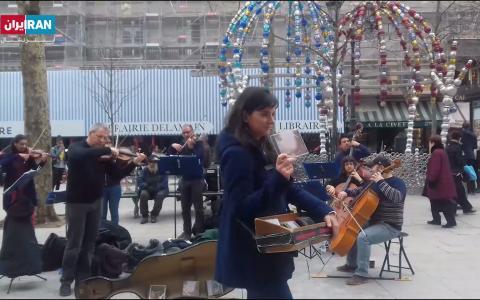 موسیقی خیابانی در پاریس