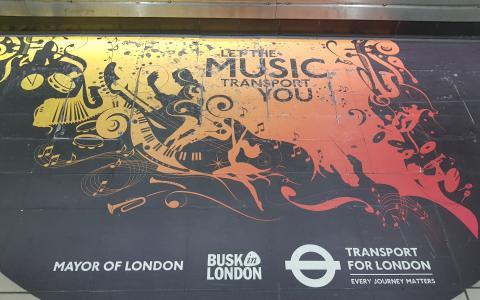 موسیقی خیابانی در لندن