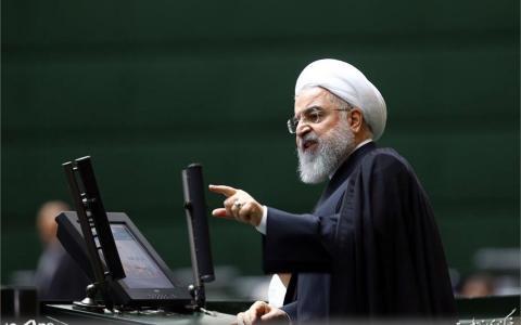 حسن روحانی در جلسه بررسی صلاحیت وزیران پیشنهادی دولت در مجلس