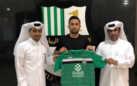 امید ابراهیمی، بازیکن تیمملی ایران به تیم فوتبال الاهلی قطر پیوست