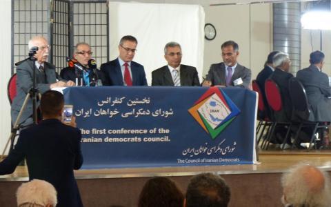 نخستین نشست «شورای دموکراسیخواهان ایران» در شهر کلن آلمان