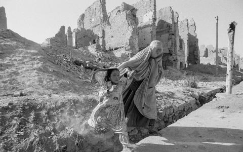 افغانستان در دوران حکومت طالبان - تصویر از David Turnley