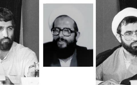 علی فلاحیان، محمد محمدی ریشهری و غلامحسین محسنی اژهای در دهه شصت