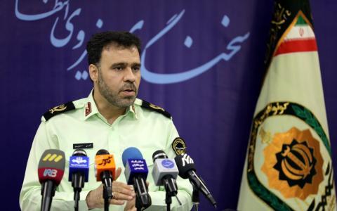 سعید منتظرالمهدی، سخنگوی نیروی انتظامی ایران