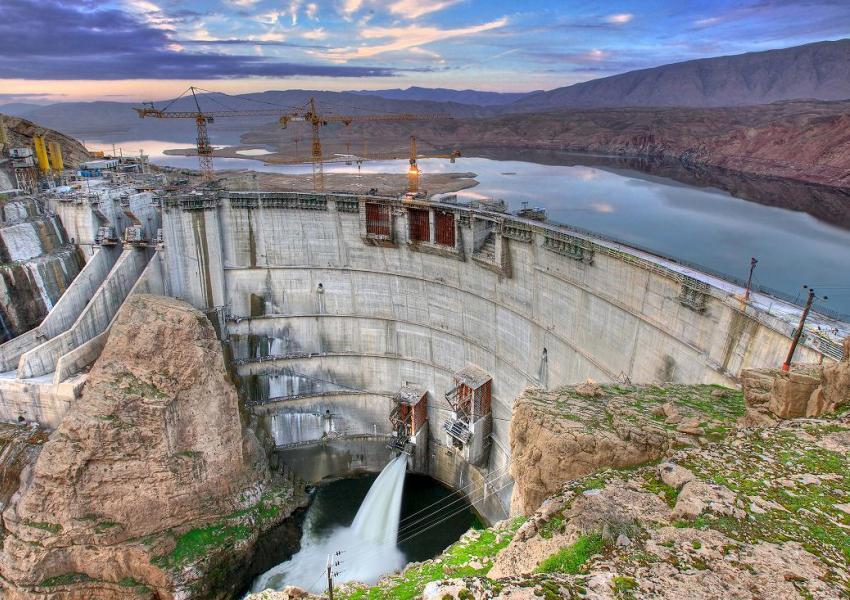 سدهای ایران؛ نیمه خالی، نیمه پر