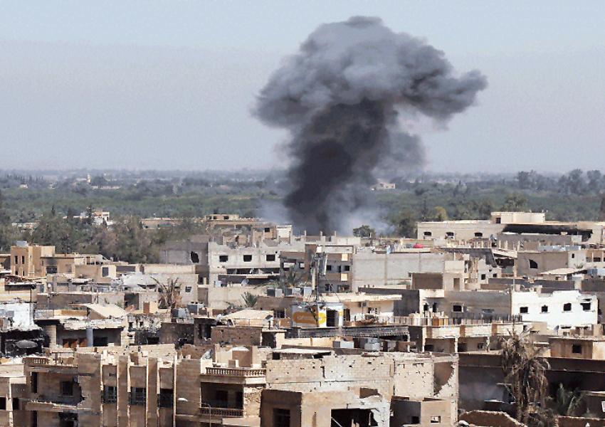 حملات هوایی نیروی هوایی رژیم اسد به شهر درعا