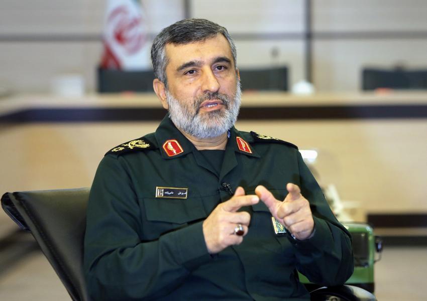 سردار امیرعلی حاجیزاده، فرمانده نیروی هوافضای سپاه پاسداران