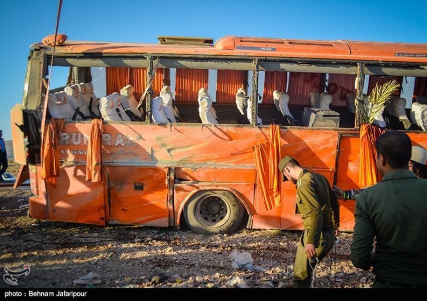تصادف اتوبوسهای دانش آموزی